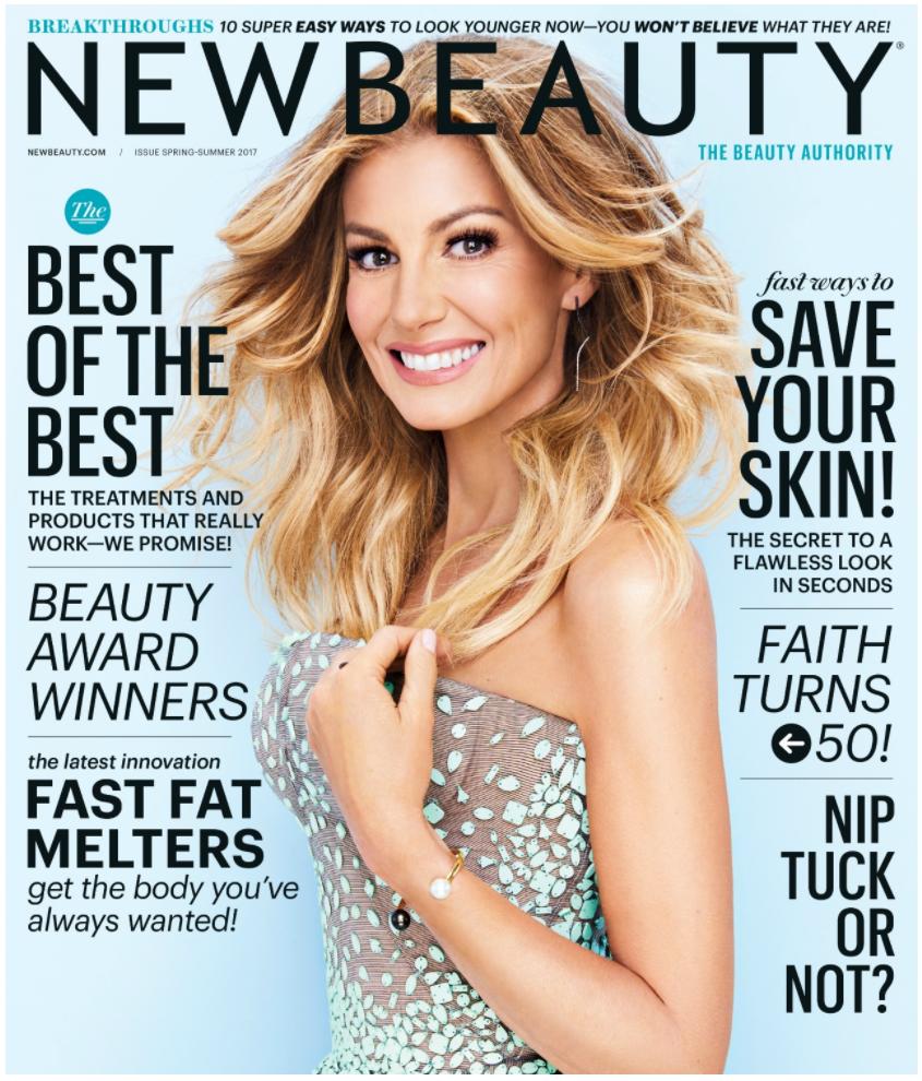 Newbeauty Cover Star Faith Hill Talks